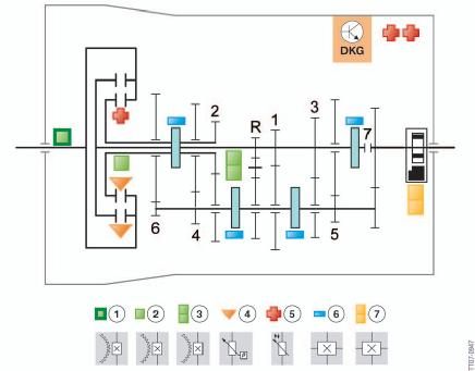 shéma capteurs mécatronique